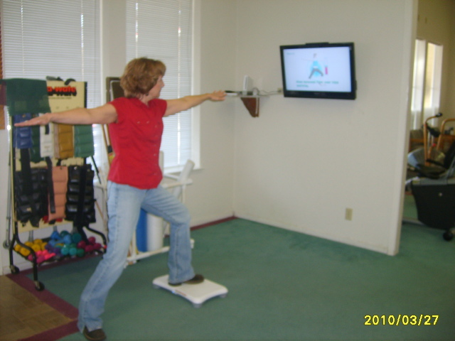 Wii-Fit used in Physical Therapy